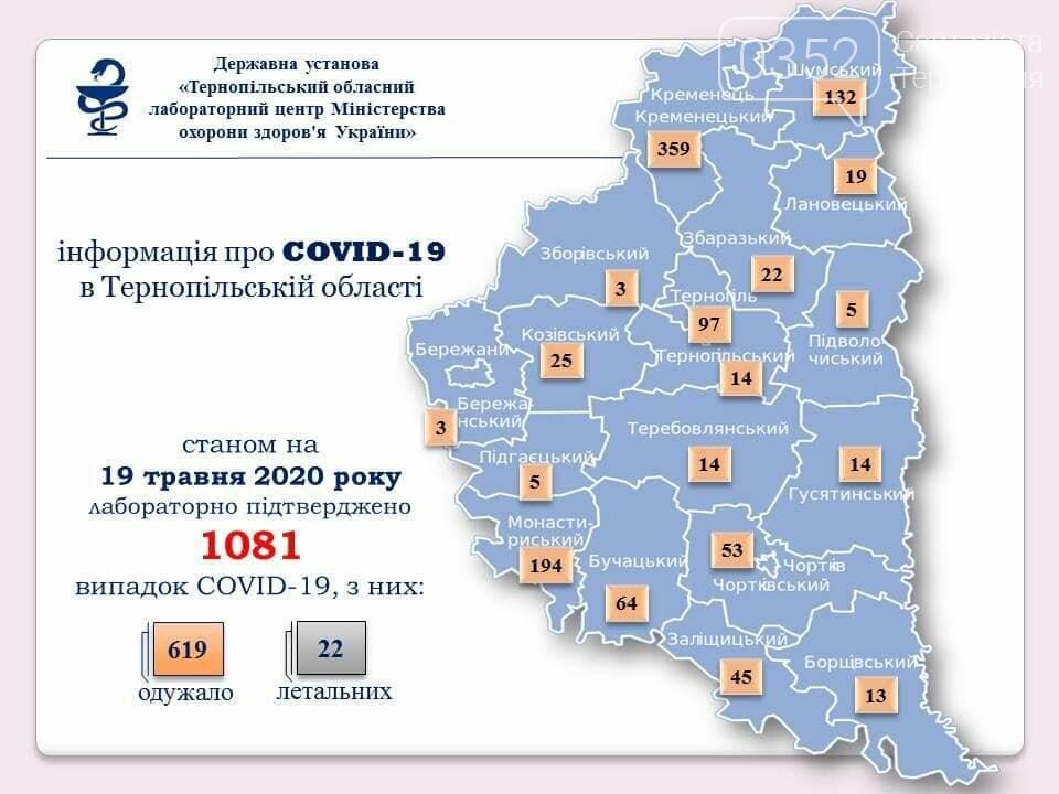 На Тернопільщині за минулу добу не виявили жодного нового випадку COVID-19, фото-1