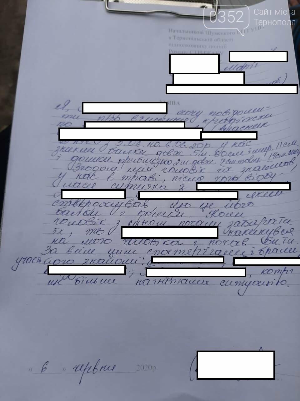 На Тернопільщині сина працівника правоохоронних органів підозрюють у вчинені крадіжки та звинувачують у побитті селянина (ФОТО), фото-8