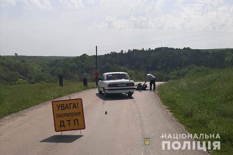 В результаті ДТП на Тернопільщині мотоцикліст потрапив до лікарні з численними переломами (ФОТО), фото-1