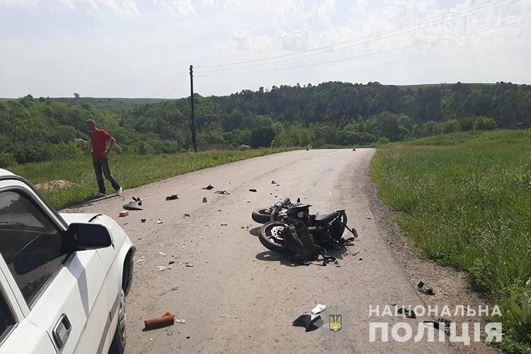 В результаті ДТП на Тернопільщині мотоцикліст потрапив до лікарні з численними переломами (ФОТО), фото-2
