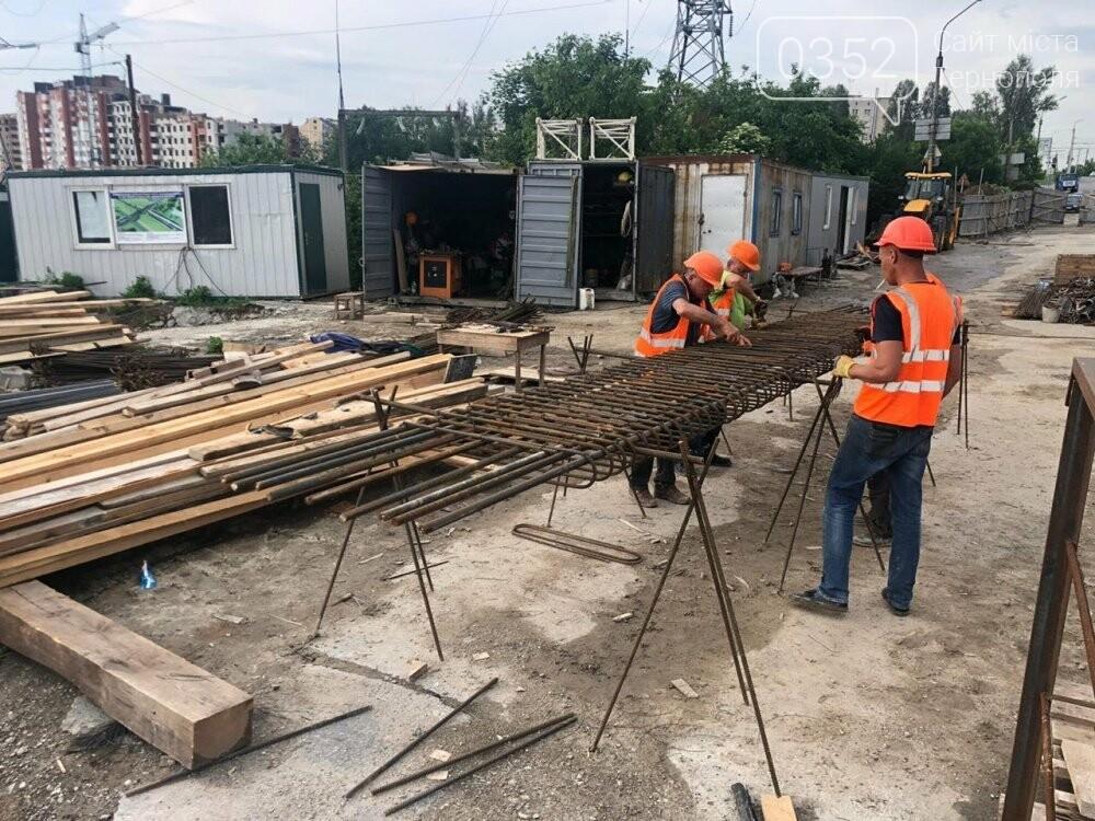 На Гаївському шляхопроводі у Тернополі робочі працюють у дві зміни (ФОТО), фото-3