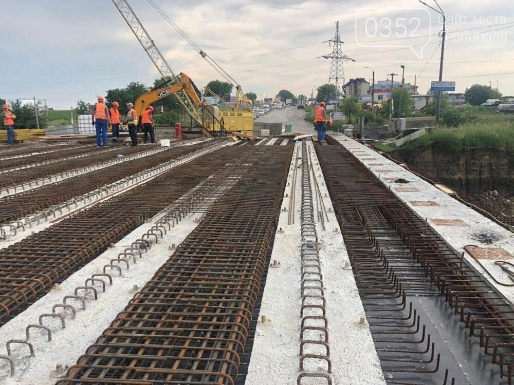 На Гаївському шляхопроводі у Тернополі робочі працюють у дві зміни (ФОТО), фото-4