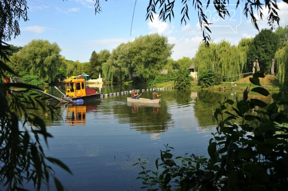 В тернопільському парку покращують санітарний стан водойм (ФОТО), фото-1