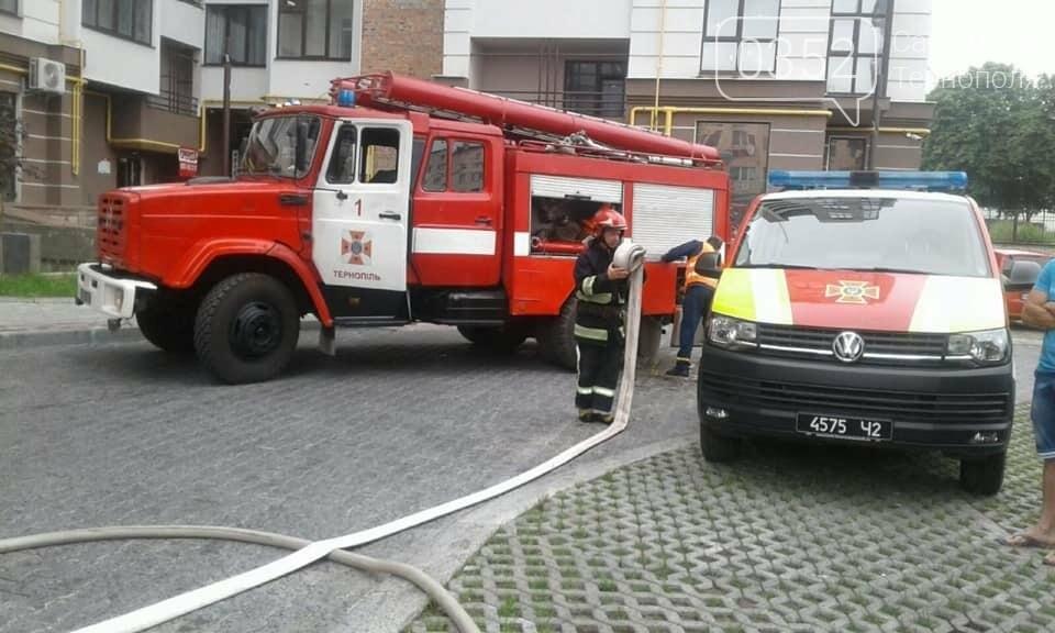 У Тернополі на Микулинецькій горіла квартира: пожежники рятували власника (ФОТО), фото-1