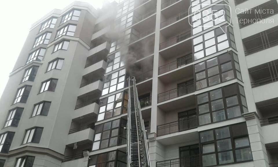 У Тернополі на Микулинецькій горіла квартира: пожежники рятували власника (ФОТО), фото-2