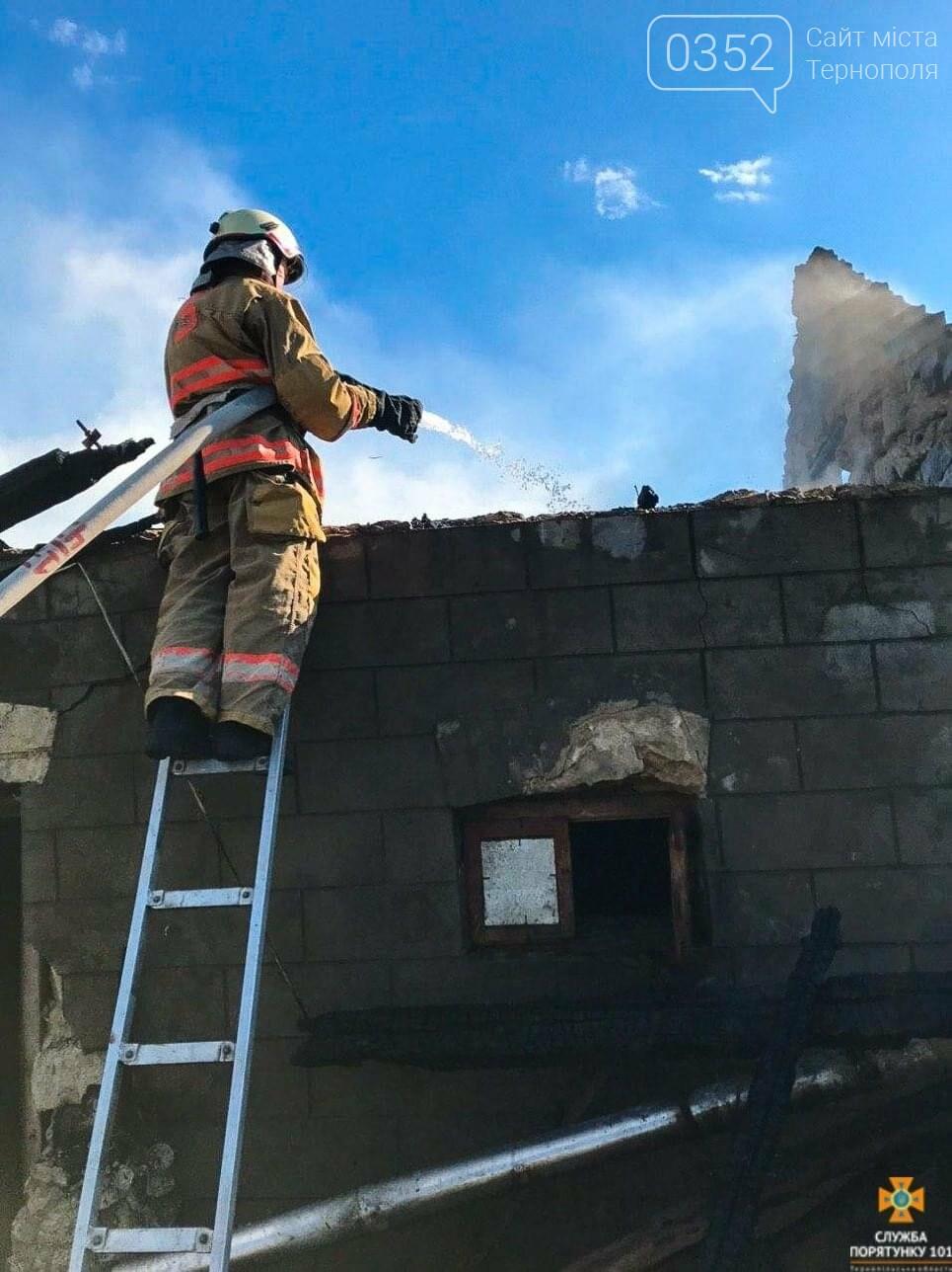 Через пожежу на Тернопільщині згоріла господарська будівля та тони пшениці і ячменю (ФОТО), фото-2