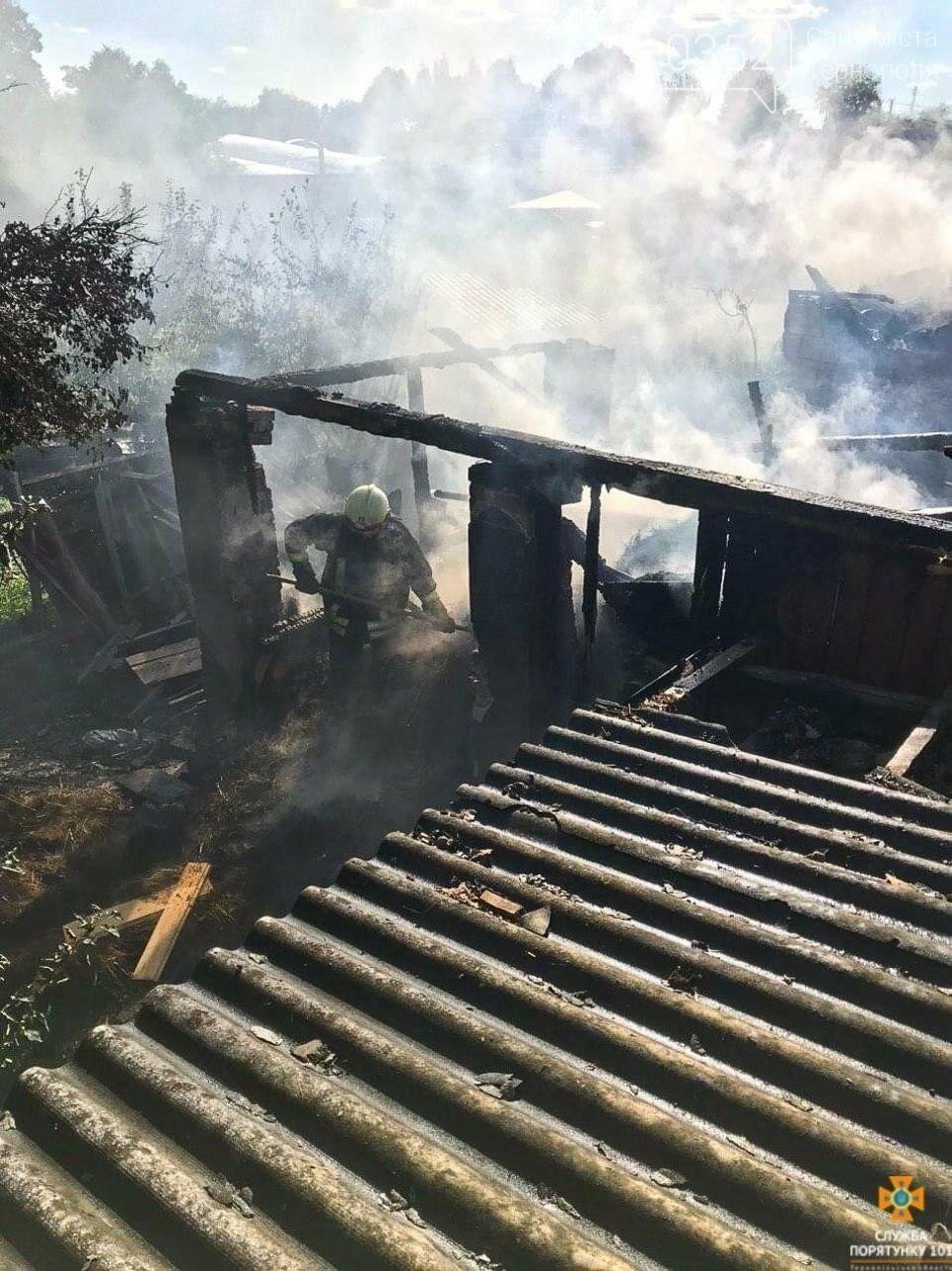 Через пожежу на Тернопільщині згоріла господарська будівля та тони пшениці і ячменю (ФОТО), фото-5
