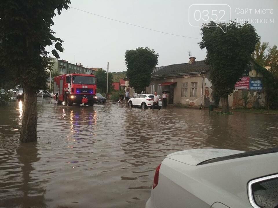 """Чортків """"перетворився"""" на Венецію після шквального дощу (ФОТО), фото-2"""