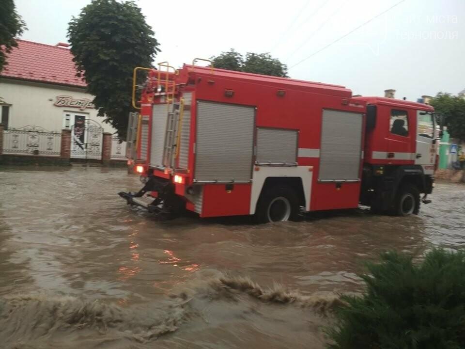 """Чортків """"перетворився"""" на Венецію після шквального дощу (ФОТО), фото-1"""