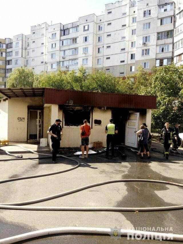 До чого доводять ревнощі: чоловік підпалив магазин і викинувся з 7-го поверху (ФОТО, ВІДЕО), фото-1