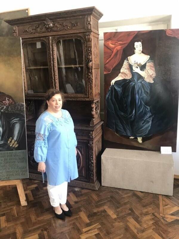 У Вишнівецькому палаці на Тернопільщині відкрили експозицію портретів його засновників (ФОТО), фото-1