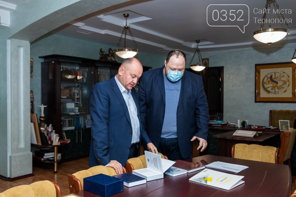 До класичного університету Тернополя завітав Руслан Стефанчук, фото-6