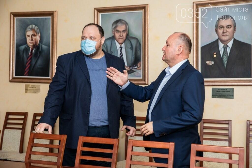 До класичного університету Тернополя завітав Руслан Стефанчук, фото-3
