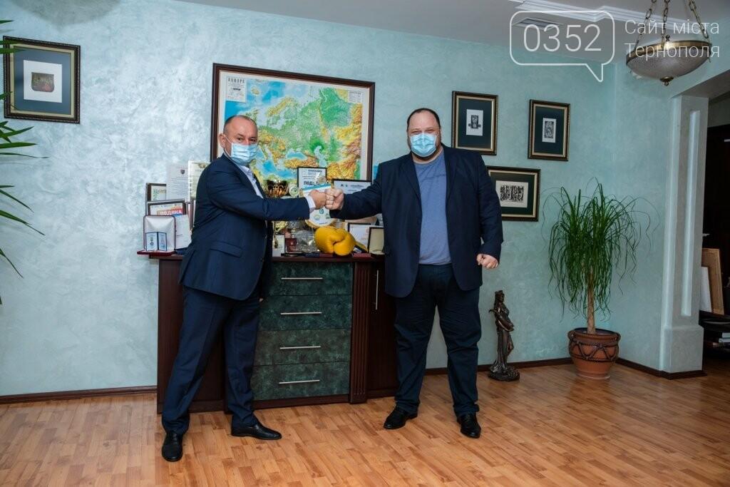 До класичного університету Тернополя завітав Руслан Стефанчук, фото-4