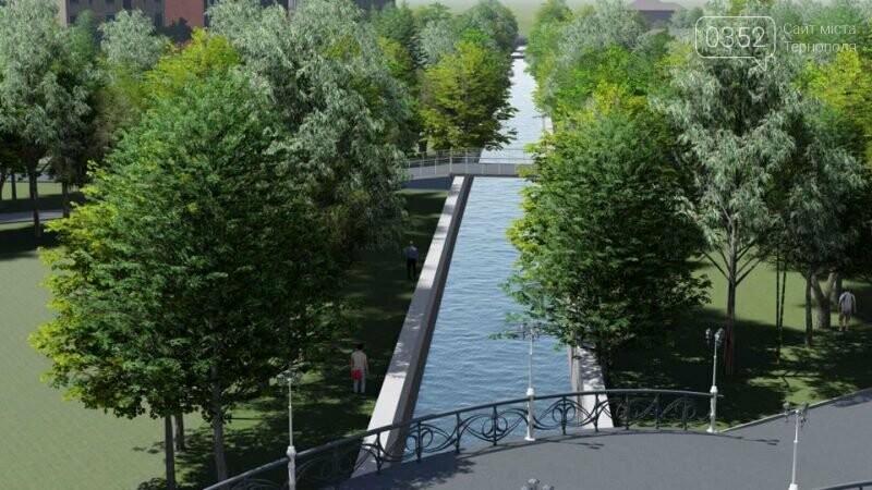 Красиві місточки через річку: як виглядатиме річка Рудка в парку Шевченка після капремонту колектора, фото-1
