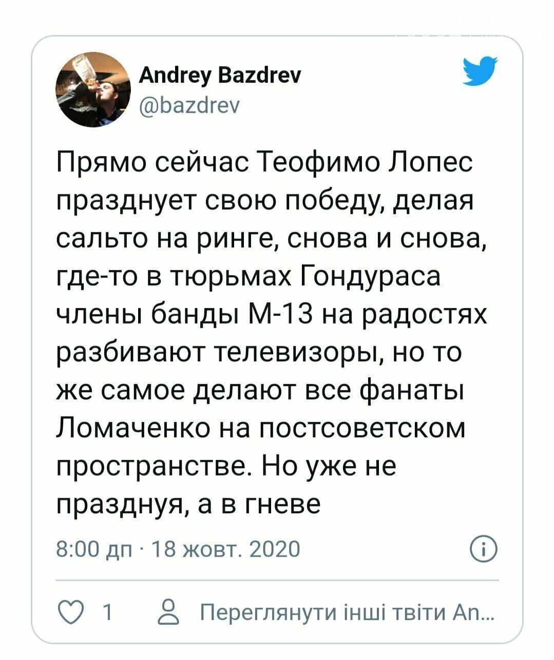 """""""Більше хрестився, ніж бив"""": після поразки Лопесу Ломаченко потрапив під критику вболівальників, фото-6"""