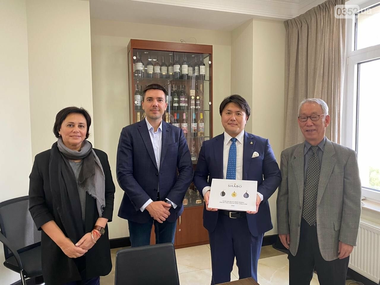 Українські вина SHABO вийшли на ринок Японії , фото-2