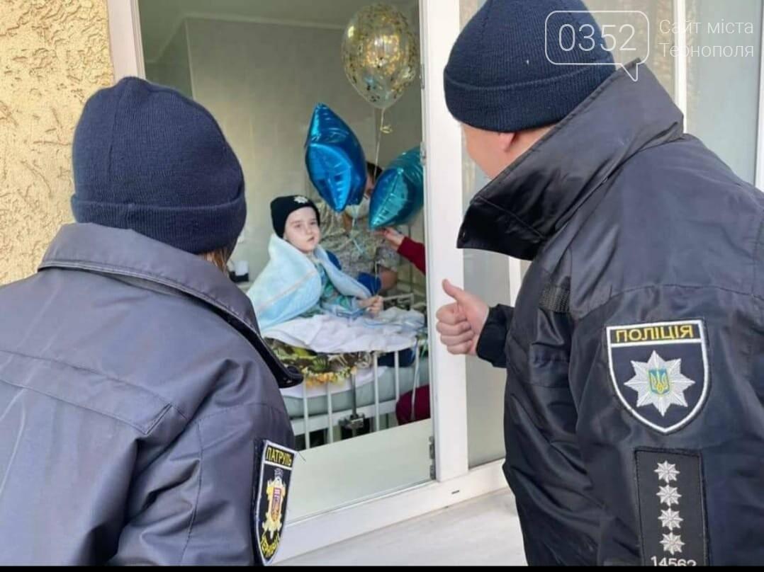 Знаходить сили боротися: стан 10-річного хлопчика з пухлиною мозку, якого прийняли до лав поліції, покращився (ФОТО), фото-1