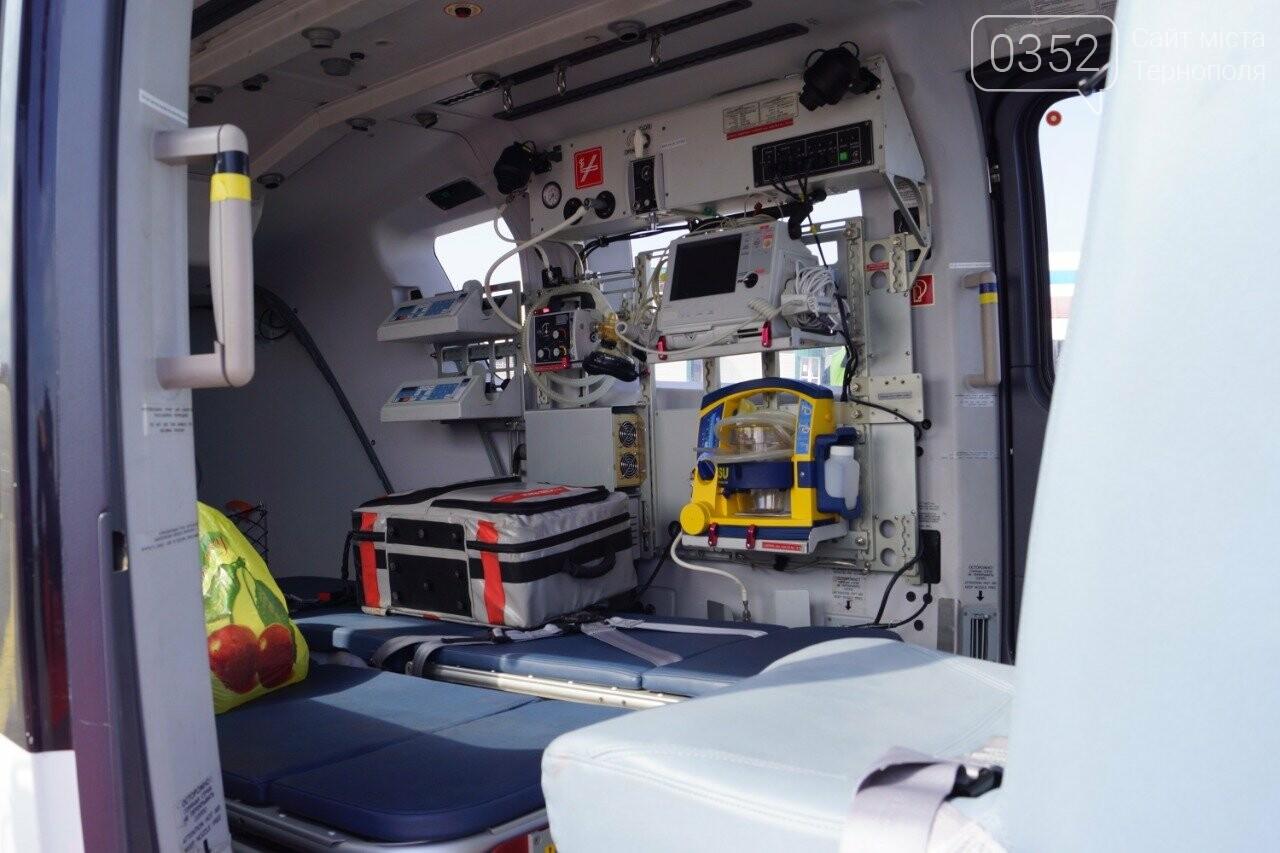На Тернопільщині хворих із віддалених сіл доставлятимуть у лікарні гелікоптерами (ФОТО) , фото-2