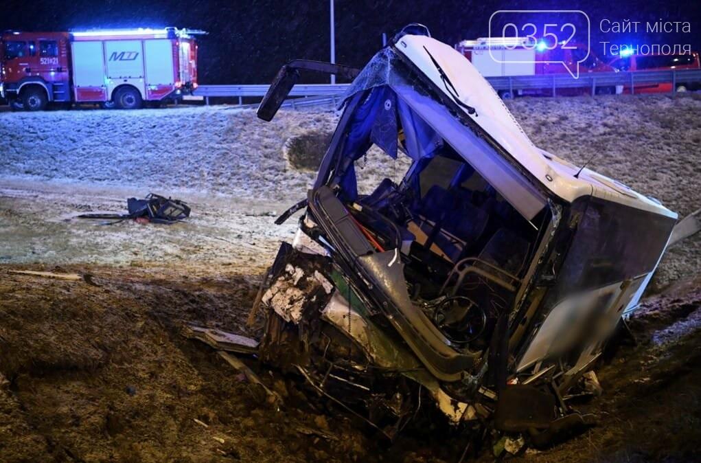У Польщі зазнав аварії автобус з українцями: 1 загиблий, 4 постраждалих (ФОТО), фото-1