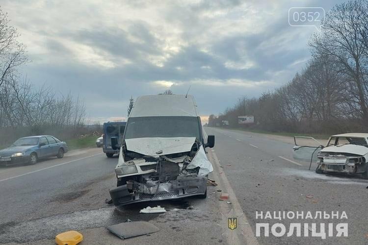 Травмувалась неповнолітня дівчина: чотири автомобілі зіткнулися на Тернопільщині (ФОТО), фото-1