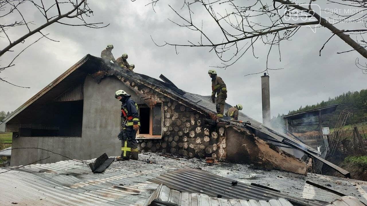Пожежа у Монастириськах : вночі спалахнув житловий будинок, фото-6
