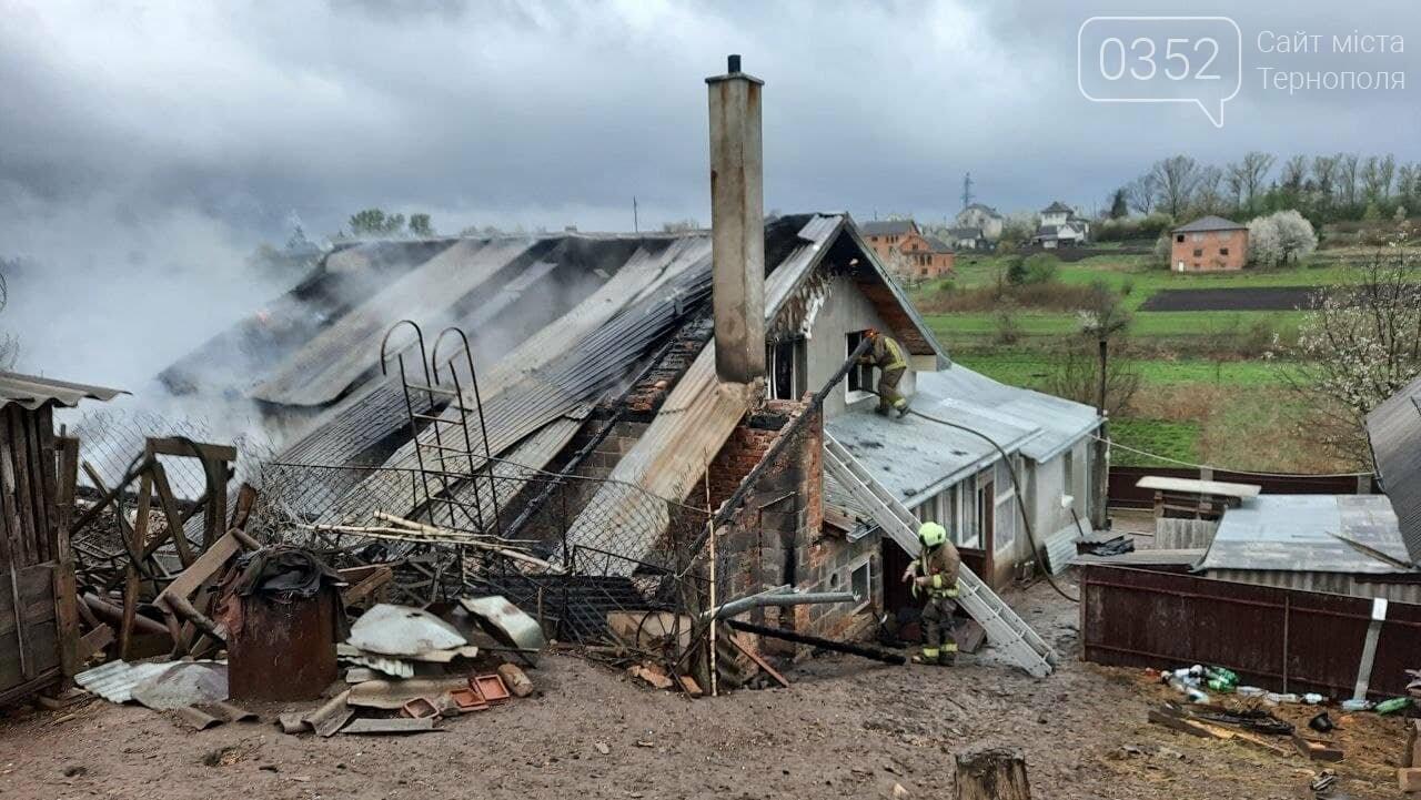 Пожежа у Монастириськах : вночі спалахнув житловий будинок, фото-5