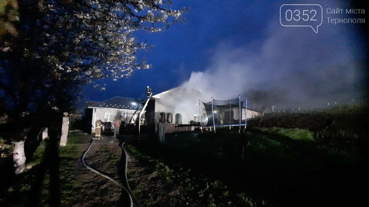 Пожежа у Монастириськах : вночі спалахнув житловий будинок, фото-3