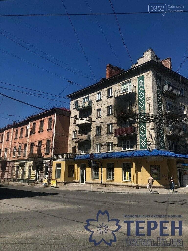 В самісінькому центрі Тернополя спалахнув будинок (ФОТО), фото-2