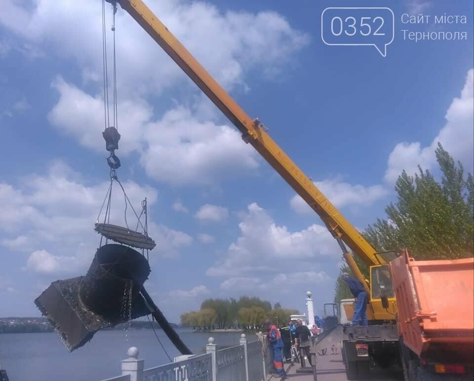 Тернопільські аераційні фонтани готують до запуску (ФОТО), фото-1