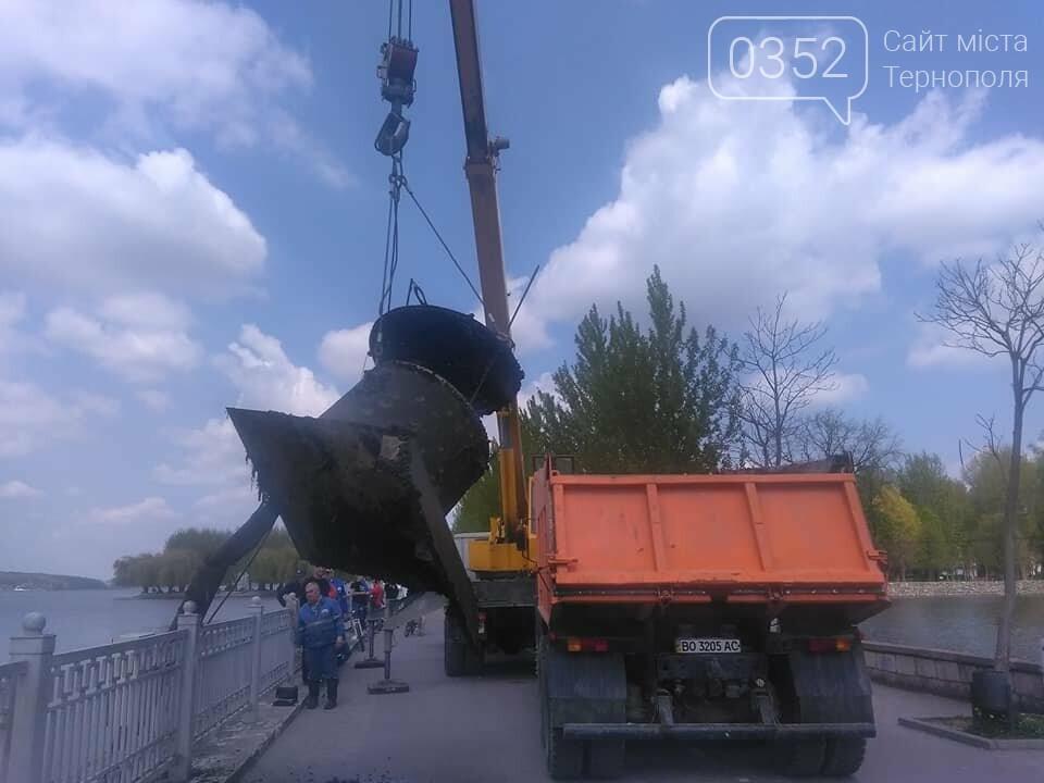 У Тернополі розпочали відновлення аераційних фонтанів (ФОТО), фото-4