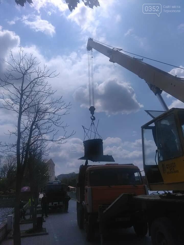 У Тернополі розпочали відновлення аераційних фонтанів (ФОТО), фото-5
