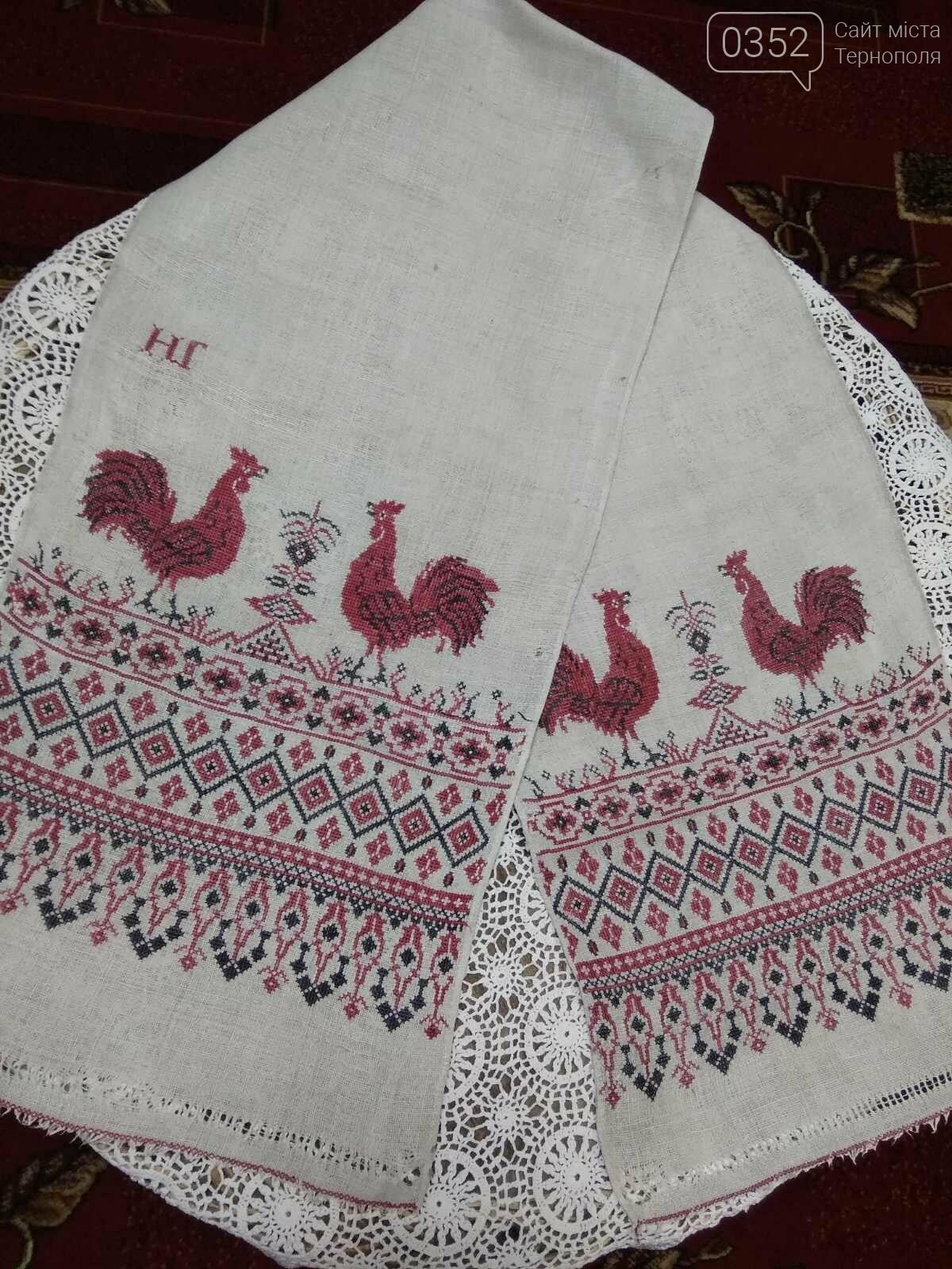 У музеї на Тернопільщині зберігається вишитий рушник, якому понад століття (ФОТО), фото-1