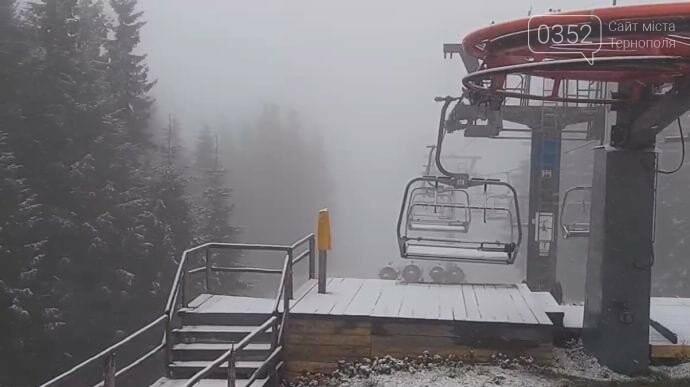 У Карпати прийшла зима: Буковель засипало снігом (ФОТО), фото-1