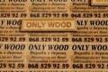 ONLY WOOD, декоративні дерев'яні світильники для саду Тернопіль