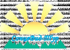 """Логотип - """"СонцеВид"""", туристична агенція в Тернополі"""