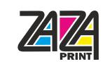 Логотип - ZAZA-print(ЗАЗА-прінт), друкарня в Тернополі