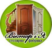 Логотип - «Віктор і Я» столярна фабрика, вхідні та міжкімнатні двері, сходи, меблі