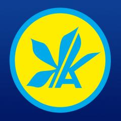 """Логотип - АВІАКАСИ, """"КИЙ АВІА"""", м Тернопіль"""
