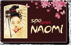 Логотип - Naomi (Наомі), Центр естетичної косметології Тернопіль