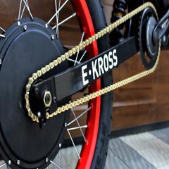 Логотип - E•KROSS, магазин електровелосипедів у Тернополі