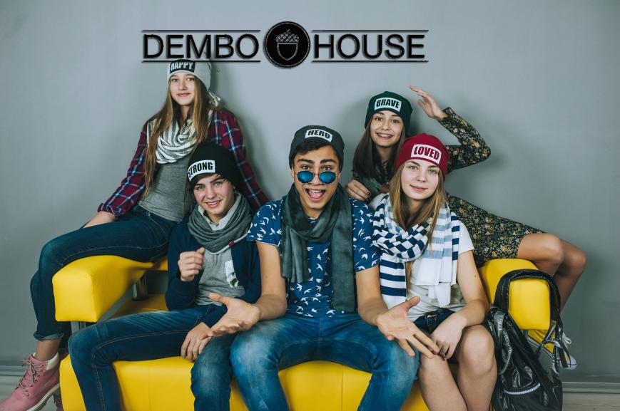 Dembohouse дитячі шапки Тернопіль