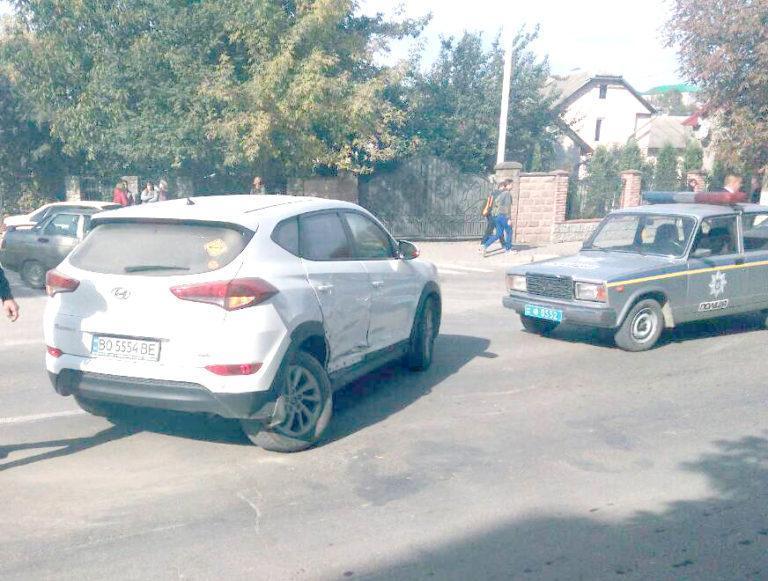 На Тернопільщині міський голова потрапив в ДТП (фото), фото-2