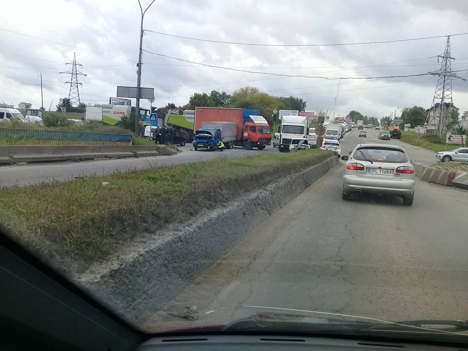 У Тернополі сталась масштабна ДТП (ФОТО), фото-1