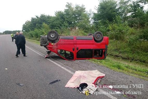 Неподалік Козови перекинувся бус, водій загинув на місці (фото), фото-2