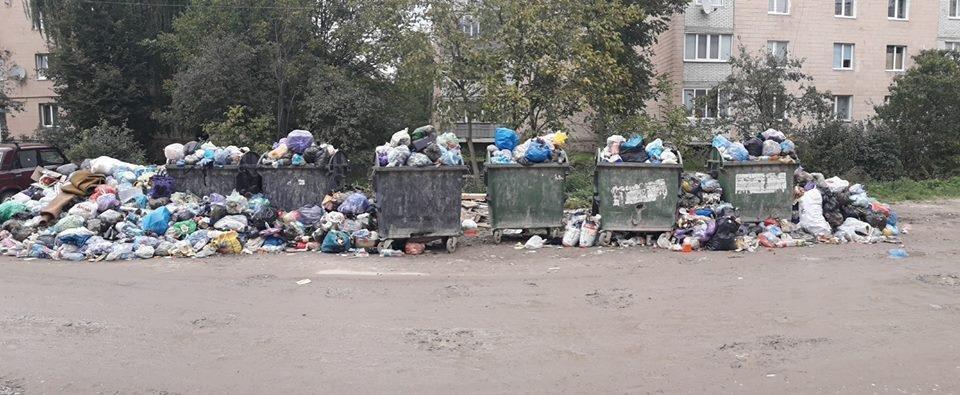 У Бережанах починається сміттєва криза – з міста не вивозять відходи (фото), фото-2