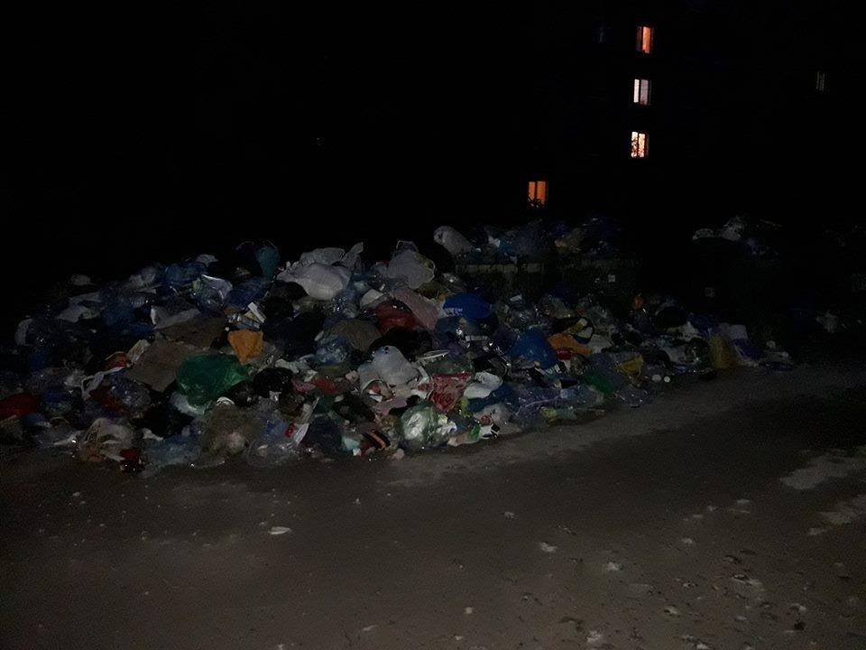 У Бережанах починається сміттєва криза – з міста не вивозять відходи (фото), фото-1