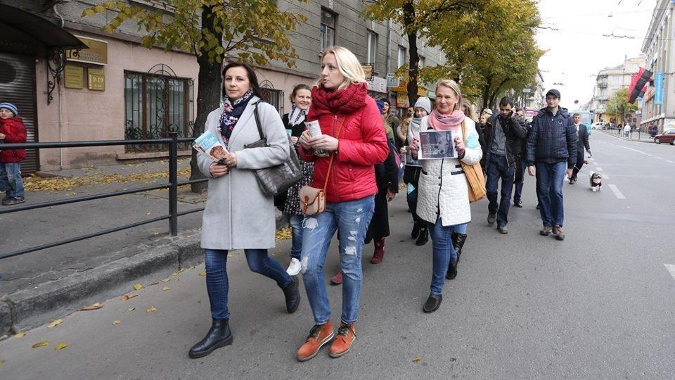 Тернополяни закликали місцевих модниць відмовитися від хутра (фото), фото-4