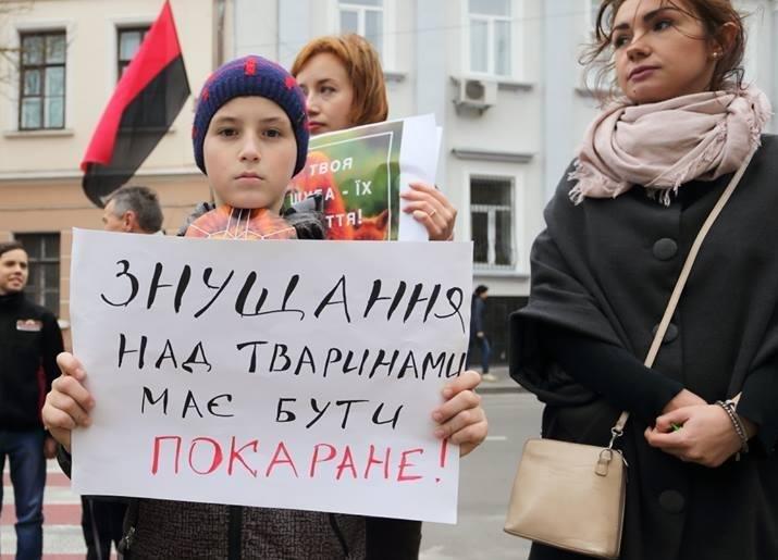 Тернополяни закликали місцевих модниць відмовитися від хутра (фото), фото-3
