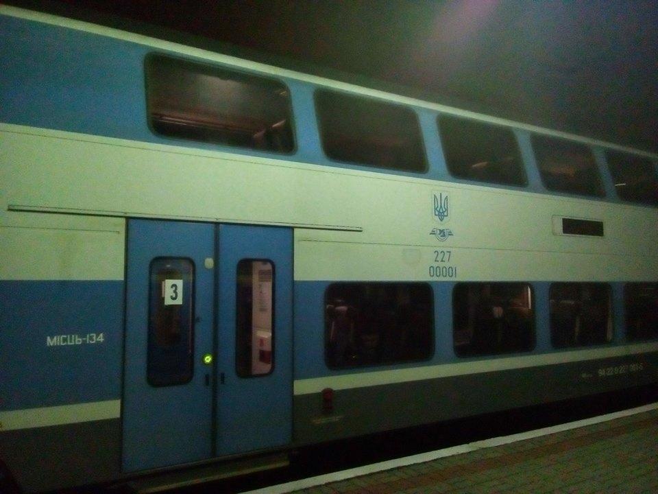 """У Тернопіль приїхав двоповерховий поїзд """"Шкода"""" (фото), фото-2"""